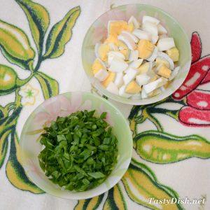 приготовление мясного салата