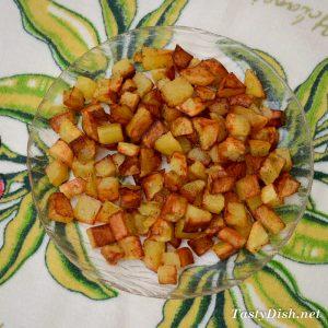 салат с бужениной и картофелем рецепт с фото пошагово