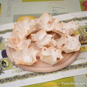 корзинки из лаваша в духовке рецепт с фото пошагово