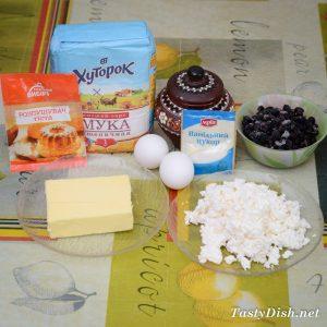 вкусный творожный кекс со смородиной рецепт с фото пошагово