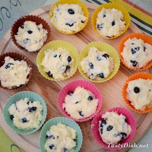 творожные кексы в формочках рецепт с фото пошагово