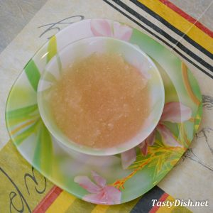 фруктовый мусс рецепт с желатином пошагово