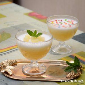 фруктовый мусс с ананасами рецепт с фото пошагово