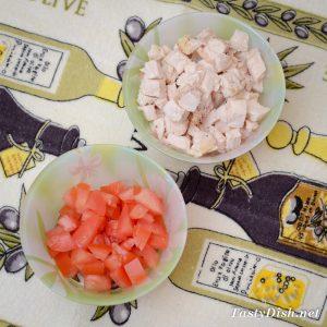 простой салат с красной фасолью и курицей рецепт с фото пошагово