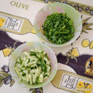 овощи для салата с курицей и фасолью консервированной рецепт с фото пошагово