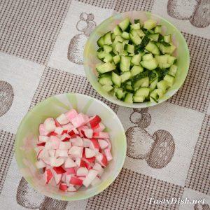 вкусный салат с курицей и овощами рецепт с фото пошагово