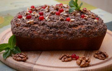 пышный кекс на кефире рецепт с фото пошагово