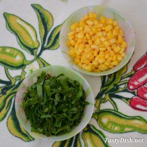 вкусный салат с щавелем рецепт с фото пошагово