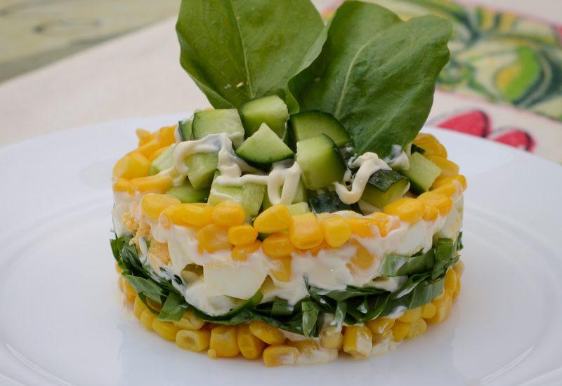 простой салат из щавеля рецепт с фото пошагово