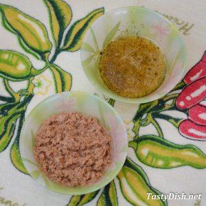 вкусный салат с тунцом и яйцом рецепт с фото пошагово
