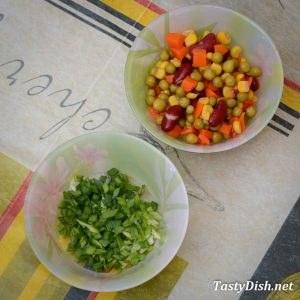 салат с куриными сердечками и овощами рецепт с фото пошагово