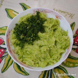 простые кабачковые блины рецепт с фото пошагово