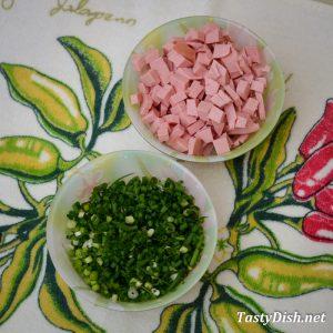 летняя окрошка на кефире рецепт с фото пошагово