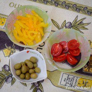 простой салат с оливками и картофелем рецепт с фото пошагово