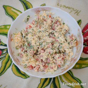 закуска из сыра на крекерах рецепт с фото пошагово