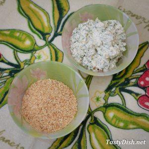 начинка для рулетиков из баклажанов с творогом и помидорами рецепт с фото пошагово