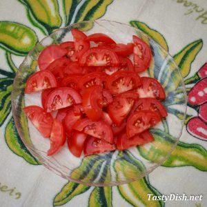рулетики из баклажанов с помидорами рецепт с фото пошагово