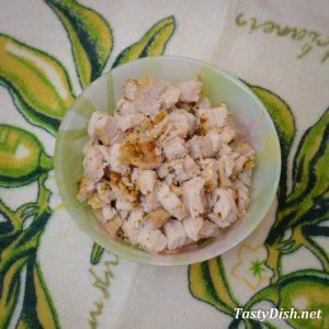 салат с виноградом и курицей рецепт с фото пошагово
