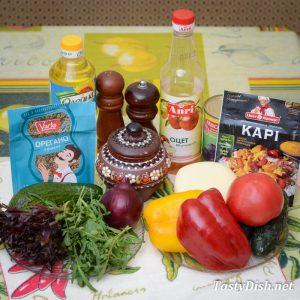 простой салат с авокадо рецепт с фото пошагово