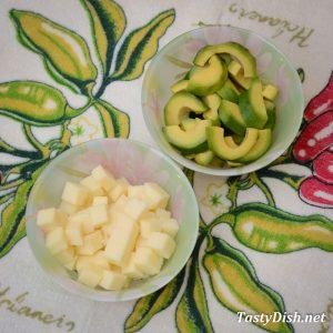 овощной салат с авокадо рецепт с фото пошагово