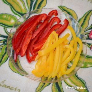 салат с авокадо перец болгарский рецепт с фото пошагово