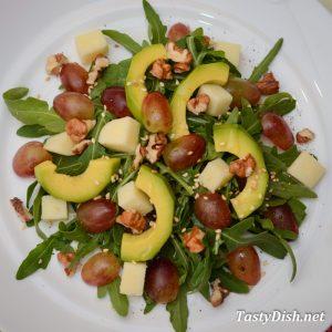 вкусный салат с авокадо рецепт с фото пошагово