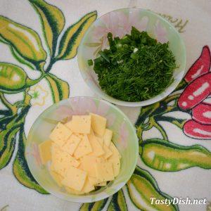 простой салат из цветной капусты с сыром рецепт с фото пошагово