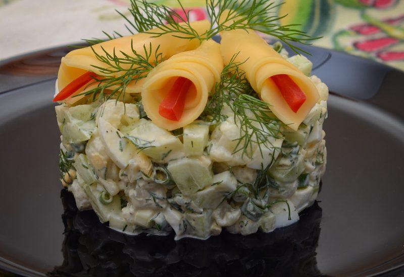 вкусный салат из цветной капусты рецепт с фото пошагово