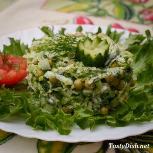 вкусный салат из пекинской капусты рецепт с фото пошагово