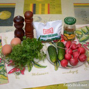 вкусный салат из редиса рецепт с фото пошагово