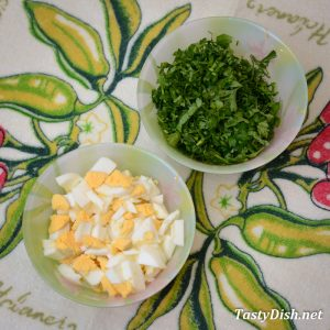 салат с редисом и яйцом рецепт с фото пошагово