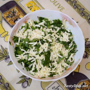 начинка для выпечки с сыром на новый год рецепт с фото пошагово
