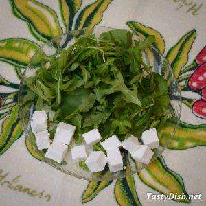 вкусный салат с рукколой и сыром рецепт с фото пошагово