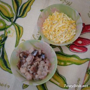 вкусный салат из скубрии рецепт с фото пошагово