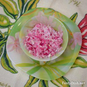 маринованный лук для салата скумбрия под шубой рецепт с фото пошагово