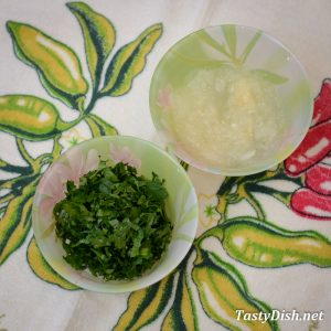 закуска из тыквы и зелени рецепт с фото пошагово