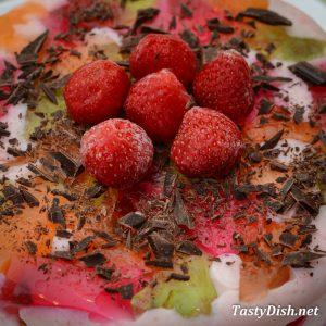 вкусный желейный торт битое стекло рецепт с фото пошагово