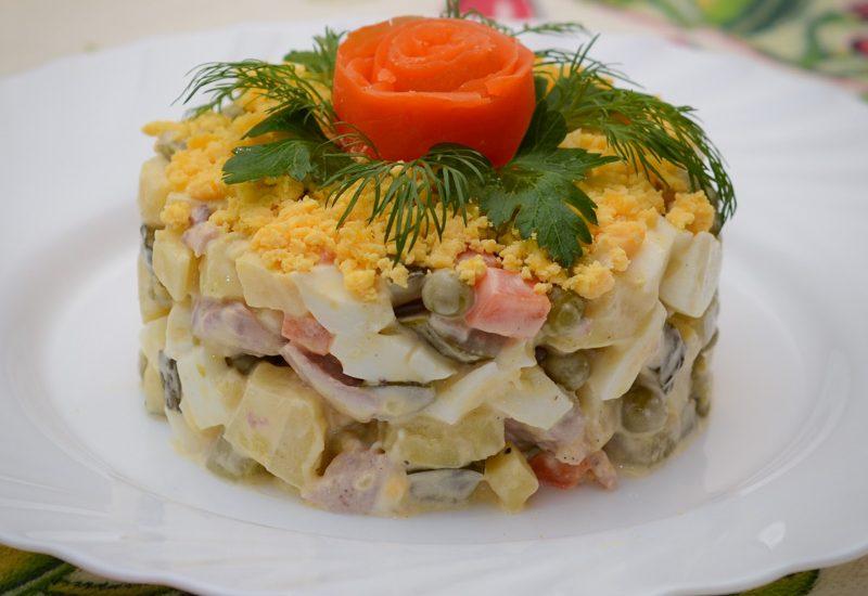 простой салат с индейкой рецепт с фото пошагово